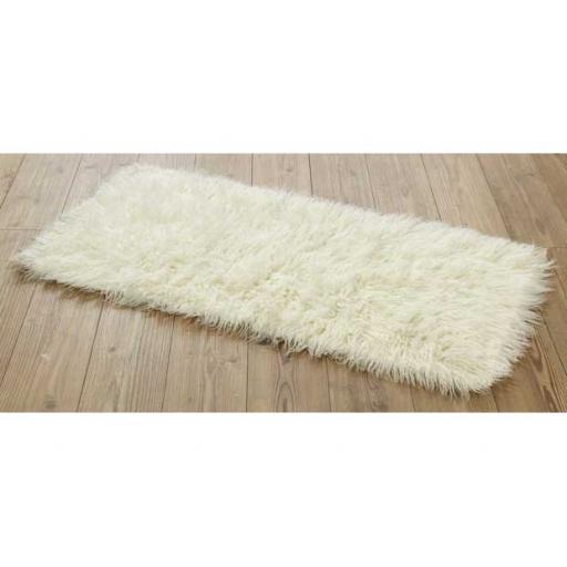 Flokati Rugs in Natural Wool 1500gsm